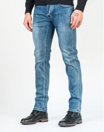 Jeans stretch culver deschis